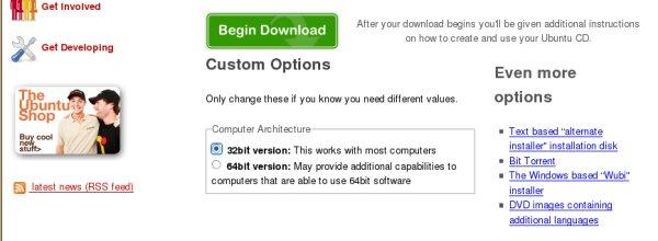 Herunterladen Des Images Fur Ubuntu Linux Und Erstellen